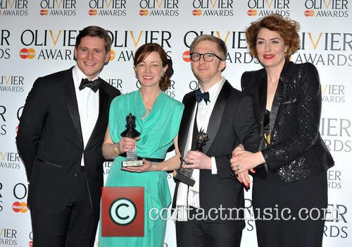 Allen Leech, Bunny Christie, Finn Ross and Anna Chancellor 3