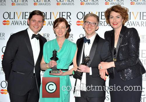 Allen Leech, Bunny Christie, Finn Ross and Anna Chancellor 5