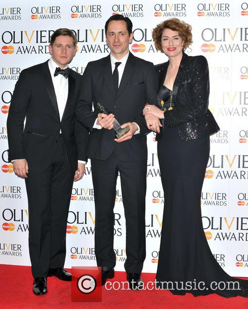 Allen Leech, Jon Morrell and Anna Chancellor 4