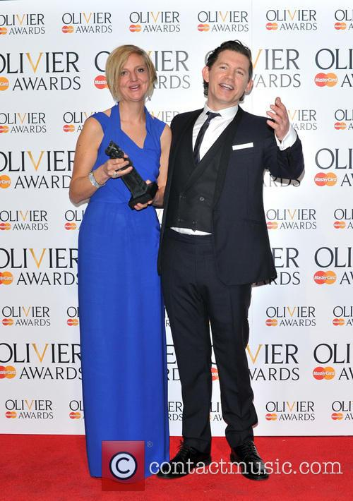 Lee Evans and Marianne Elliott 4