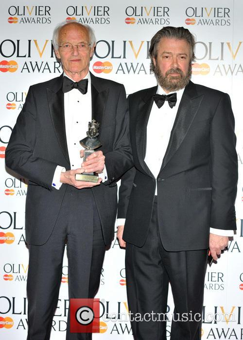 Michael Frayn and Roger Allam 1