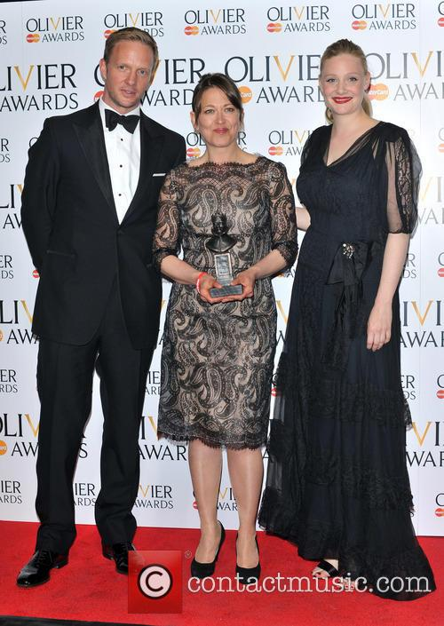 Rupert Penry Jones, Nicola Walker and Romola Garai