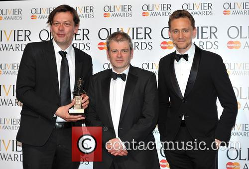 Simon Stephens, Mark Haddon and Tom Hiddleston 1