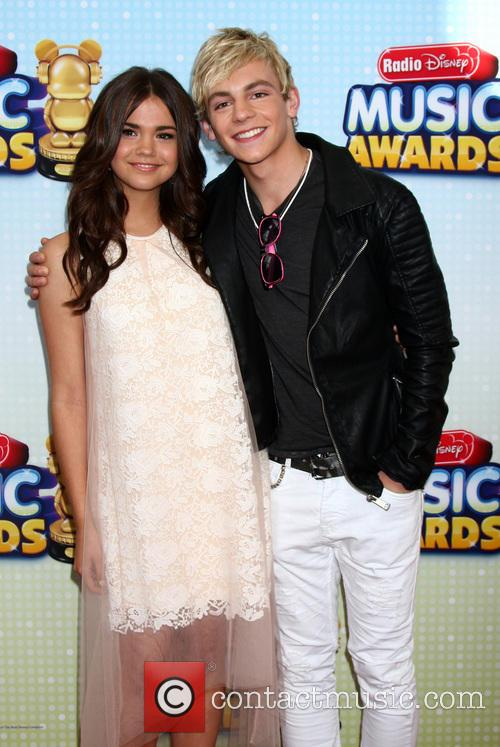 Maia Mitchell and Ross Lynch 3
