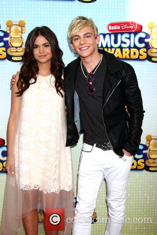 Maia Mitchell and Ross Lynch 1