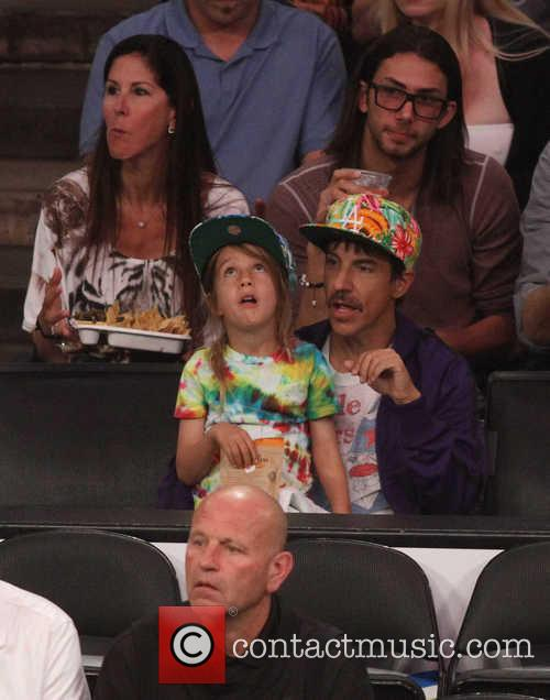 Anthony Kiedis and Everly Bear Kiedis 2