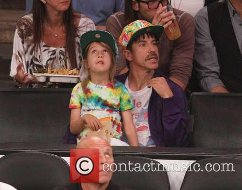 Anthony Kiedis and Everly Bear Kiedis 3