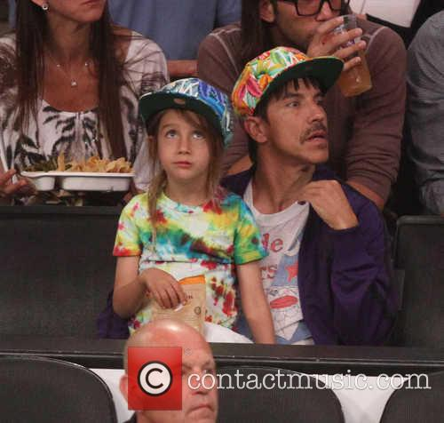 Anthony Kiedis and Everly Bear Kiedis 4