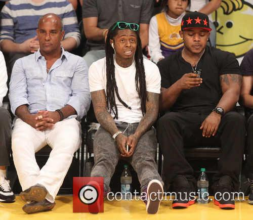 Lil' Wayne, Dwayne Michael Carter and Jr. 1