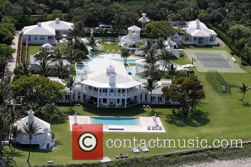 General views of Celine Dion's home in Florida