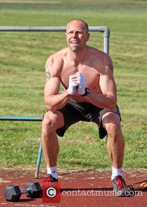 Former Olympic Decathlon medallist Dean Macey keeps in...