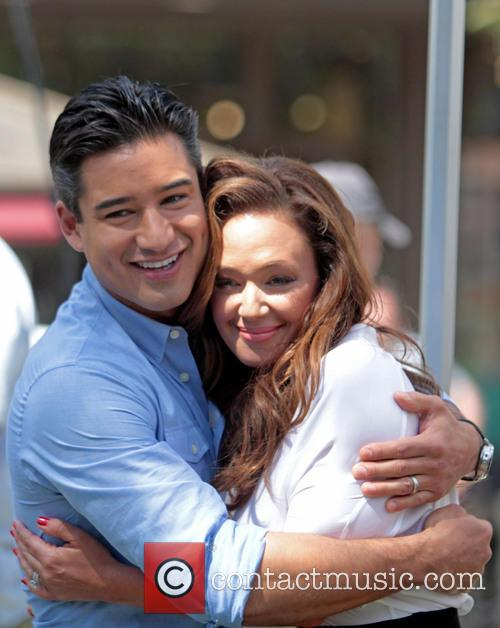 Leah Remini and Mario Lopez 10