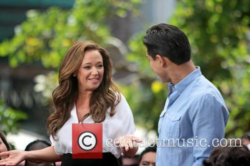 Leah Remini and Mario Lopez 14