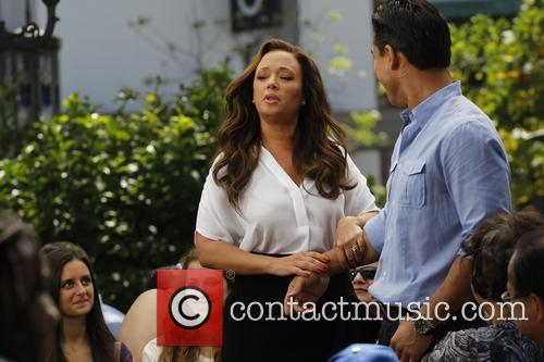 Leah Remini and Mario Lopez 7