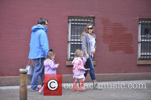 Sarah Jessica Parker, Matthew Broderick, Tabitha Broderick and Marion Broderick 2