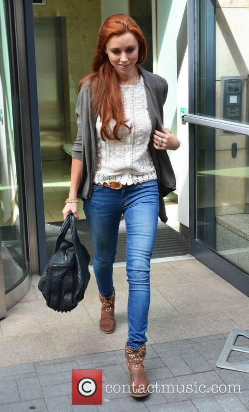 una healy the saturdays seen leaving today 3634327