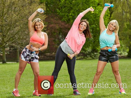 Billie Faiers, Libby Low and Sam Faiers 3