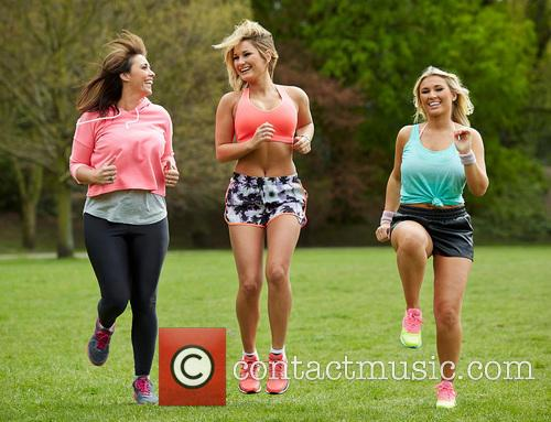 Billie Faiers, Libby Low and Sam Faiers 4
