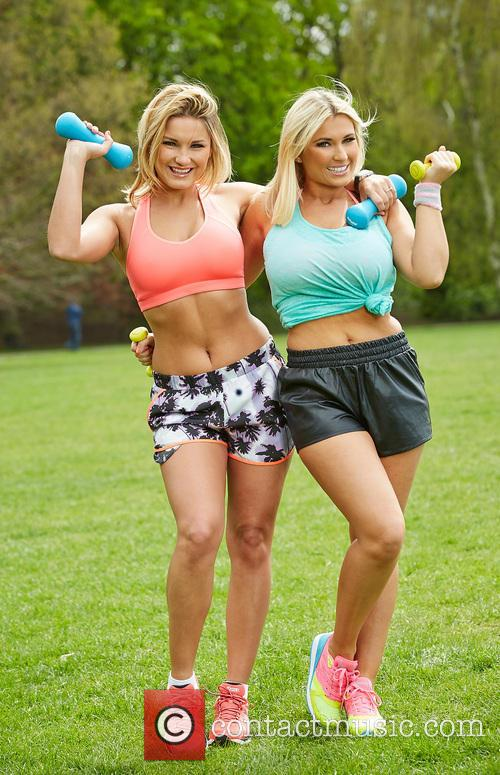 Billie Faiers and Sam Faiers 2