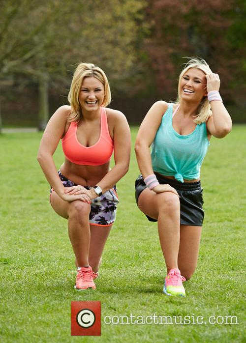 Billie Faiers and Sam Faiers 5