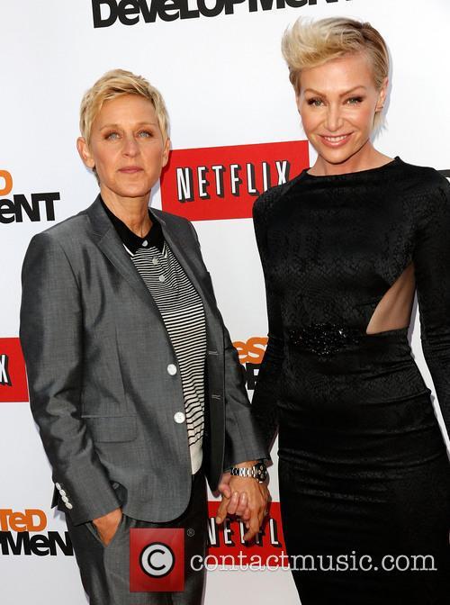 Ellen DeGeneres and Portia de Rossi 8