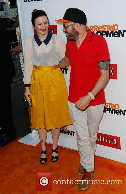 Amber Tamblyn and David Cross 9