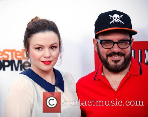 Amber Tamblyn and David Cross 11
