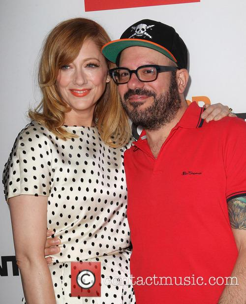 Judy Greer and David Cross 4