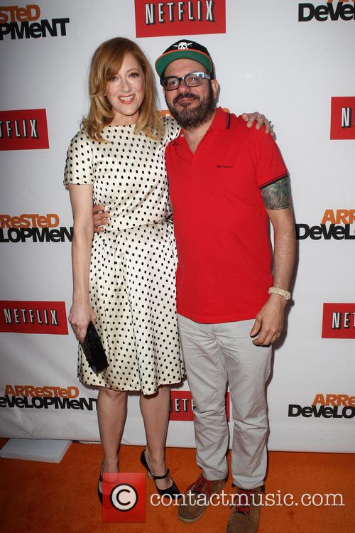 Judy Greer and David Cross 6