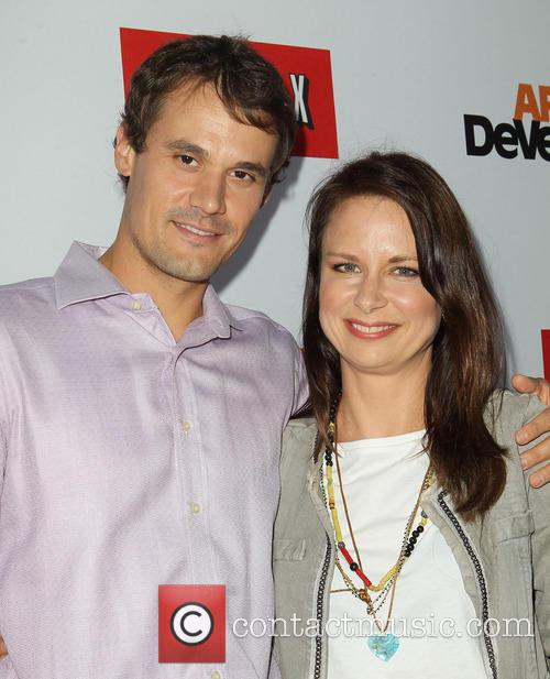 Mary Lynn Rajskub and Matthew Rolph 5