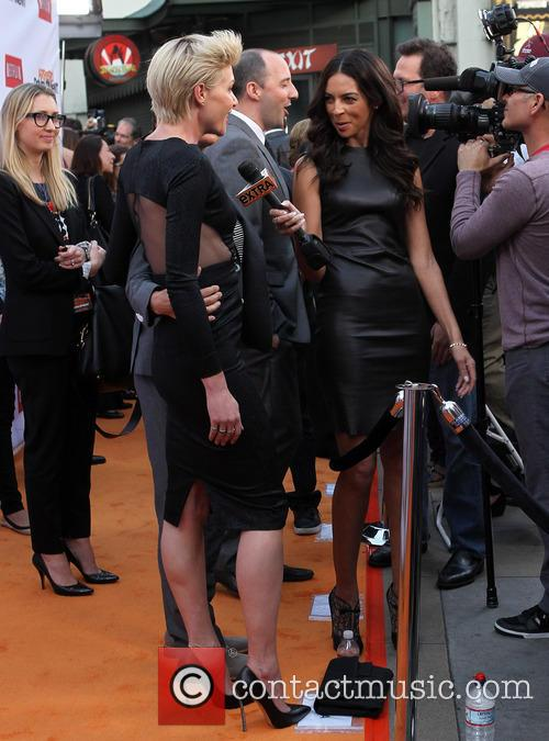 Portia De Rossi and Terri Seymour 2