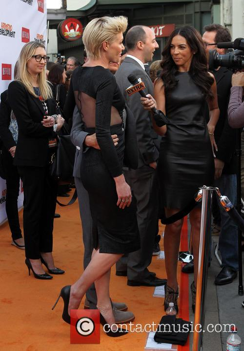 Portia De Rossi and Terri Seymour 5