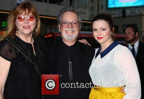 Amber Tamblyn, With Her Mom and Dad (russ Tamblyn) 2
