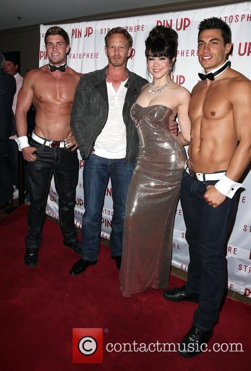 Ian Ziering, Claire Sinclair and Chippendales 3