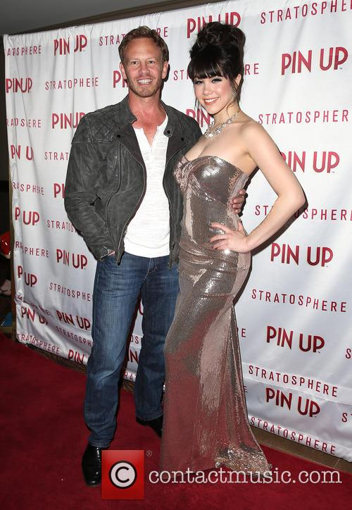 Ian Ziering and Claire Sinclair 2