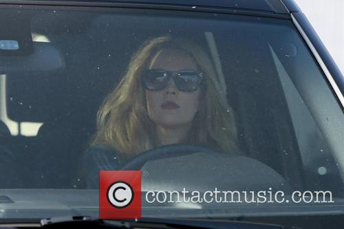 Drew Barrymore Leaving A Hair Salon