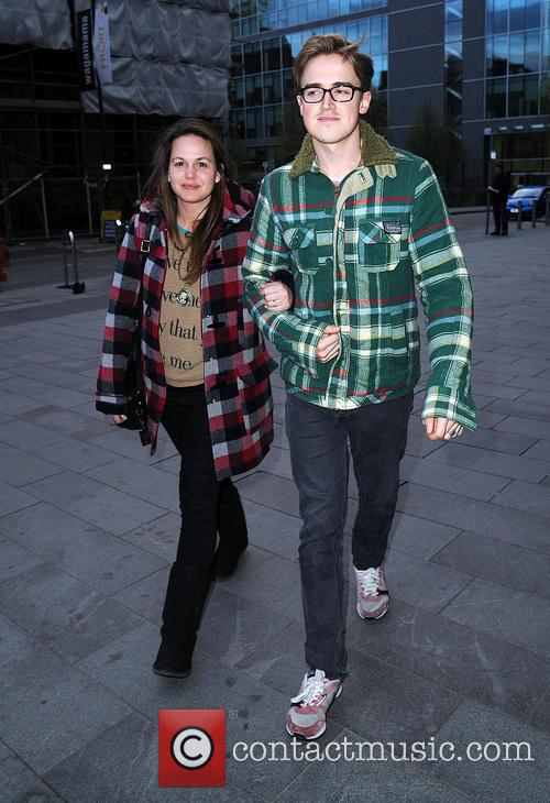 Tom Fletcher and Giovanna Fletcher 3