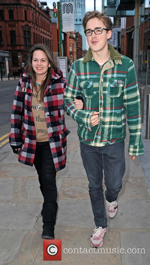 Tom Fletcher and Giovanna Fletcher 1