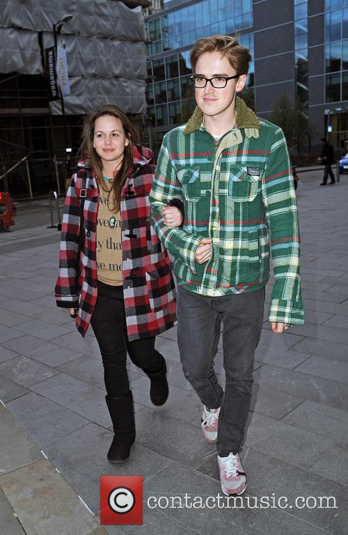 Tom Fletcher and Giovanna Fletcher 6