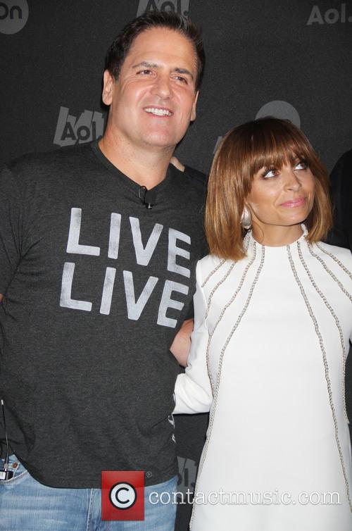 Mark Cuban and Nicole Richie 5