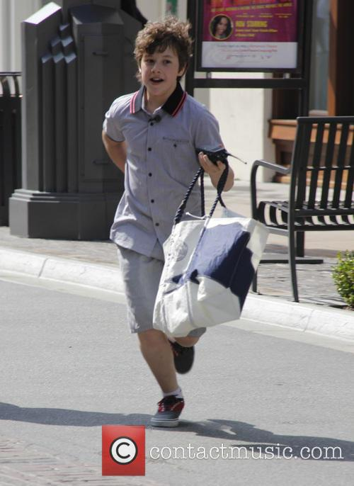 nolan gould celebrities at the grove 3637933