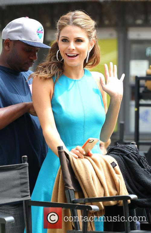 maria menounos celebrities at the grove to 3638152