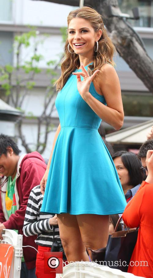maria menounos celebrities at the grove to 3638157