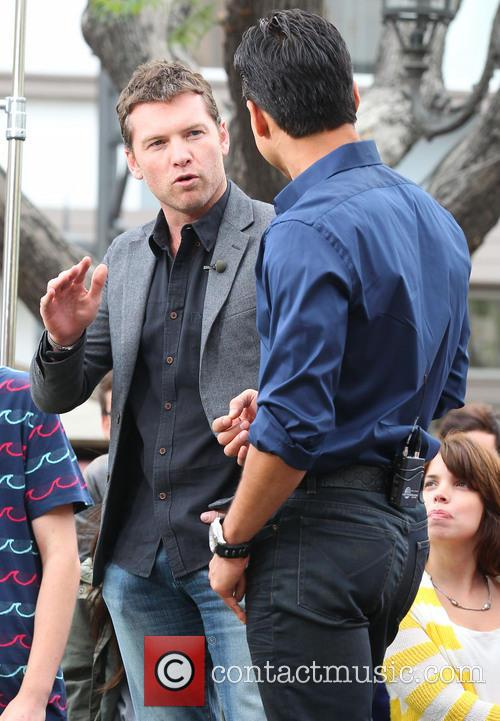 Sam Worthington and Mario Lopez 3