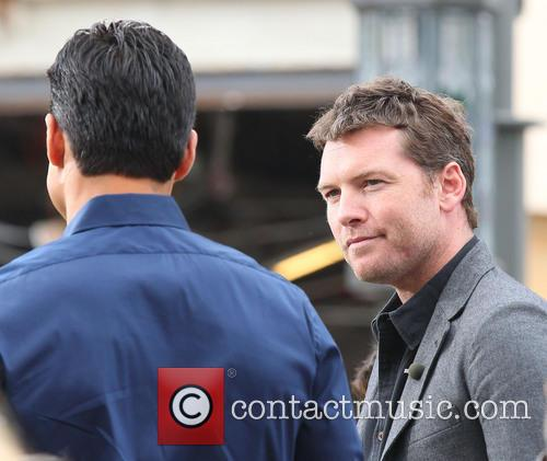 Sam Worthington and Mario Lopez 4