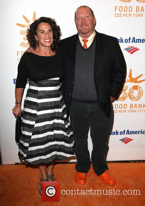 Susan Cahn and Mario Batali