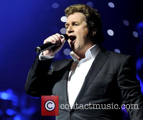 Michael Ball performs at the Oxford New Theatre