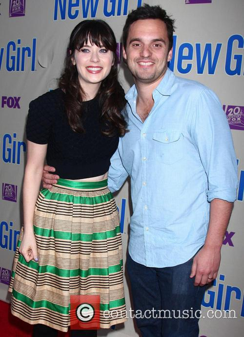 Zooey Deschanel and Jake Johnson 6