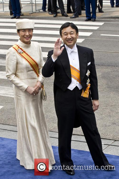 Crown Prince Naruhito of Japan, Princess Masako from Japan, Amsterdam