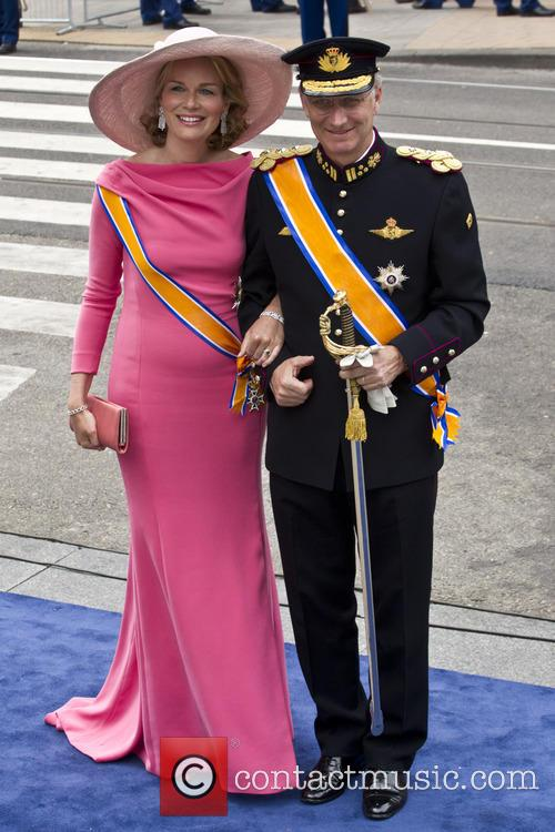 Crown Prince Philippe and Crown Princess Mathilde Of Belgium 5